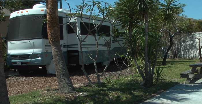 florida rv mobile home park, beach campground